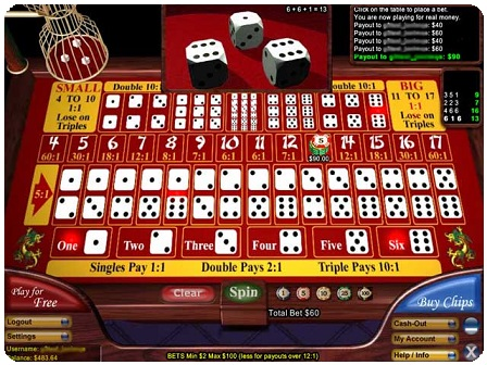 best online casino websites sic bo